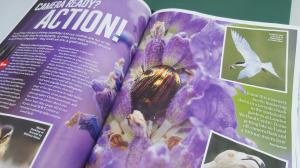 Double Page Spread in WWT Waterlife magazine